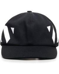 Off-White c/o Virgil Abloh Diagonal Baseball Cap - Black