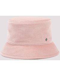 Maison Michel Axel Corduroy Bucket Hat - Pink