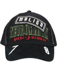 DIESEL Logo Patch Zipped Cap - Black