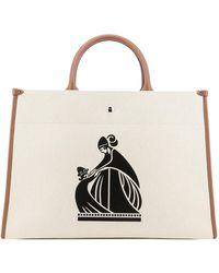 "Lanvin ""cabas"" Handbag - Natural"