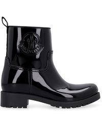 Moncler Ginette Rain Boots - Black