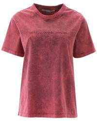 Stella McCartney - Logo Acid Wash T-shirt - Lyst