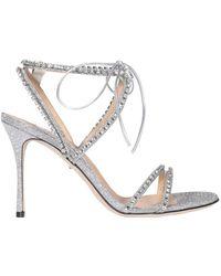 Sergio Rossi Embellished Sandals - Metallic
