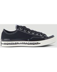 Moncler Genius Moncler X Converse Fraylor Ii Sneakers - Black