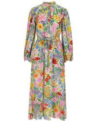 Gucci X Ken Scott Print Dress - Multicolor