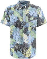 "Engineered Garments ""popover Bd"" Shirt - Blue"