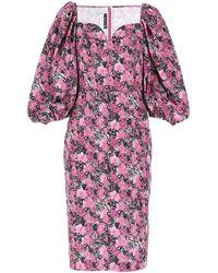 ROTATE BIRGER CHRISTENSEN Printed Polyester Irina Dress Nd - Multicolour
