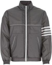 Thom Browne 4-bar Track Jacket - Grey