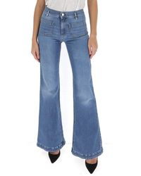 RED Valentino Flared Jeans - Blue