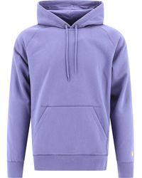"""Carhartt WIP """"chase"""" Hoodie - Purple"""