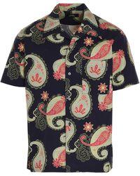 Rassvet (PACCBET) Paisley Print Buttoned Shirt - Blue