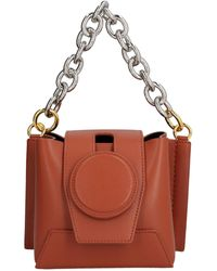 Yuzefi Daria Mini Bucket Bag - Brown
