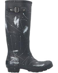 Philosophy Di Lorenzo Serafini Paint Splatter Boots - Gray
