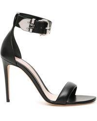 Alexander McQueen Buckled Sandals - Black