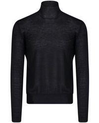 Bottega Veneta Turtleneck Pullover - Black