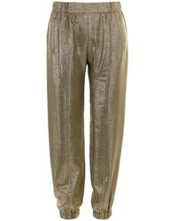Saint Laurent Balmain Metallic Pants