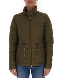 Woolrich Padded Down Jacket - Green