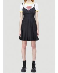 Marc Jacobs Heaven By Pleated Dress - Black
