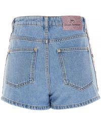 Chiara Ferragni Other Materials Shorts - Blue