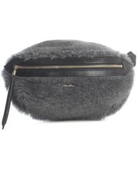 Max Mara Teddy Belt Bag - Gray