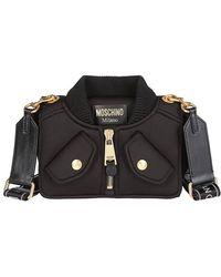 Moschino - Jacket Shoulder Bag - Lyst