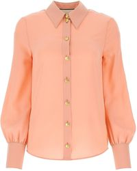 Gucci Classic Collar Buttoned Shirt - Pink