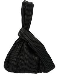 Nanushka Jen Top Handle Bag - Black