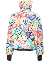 3 MONCLER GRENOBLE Printed Zip Up Jacket - Multicolor