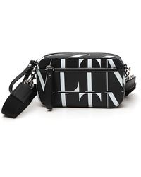 Valentino Garavani Vltn Times Small Crossbody Bag - Black