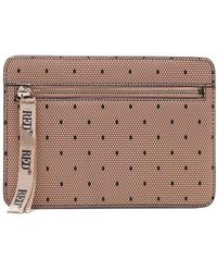 RED Valentino Women's Vq2p0b22bksn17 Pink Other Materials Pouch