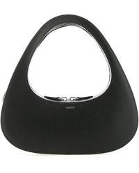 Coperni Corperni Baguette Swipe Top Handle Bag - Black