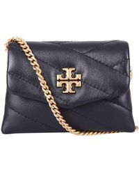 Tory Burch Quilted Mini Shoulder Bag - Black