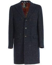 Etro - Single-breasted Long Coat - Lyst