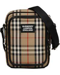 Burberry Vintage Check Crossbody Bag - Multicolour