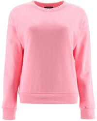 A.P.C. Annie Crewneck Sweatshirt - Pink