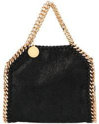 Stella McCartney Falabella Tiny Tote Bag - Black