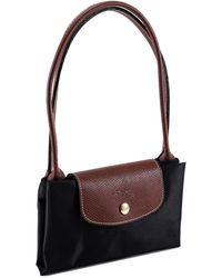 Longchamp Small Le Pliage Original Shoulder Bag - Black