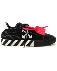 Off-White c/o Virgil Abloh Arrow Vulcanized Low-top Sneakers - Black