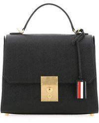 Thom Browne Mrs. Thom Handbag - Black