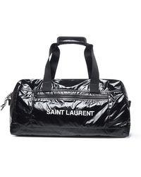 Saint Laurent Logo Duffle Bag - Black