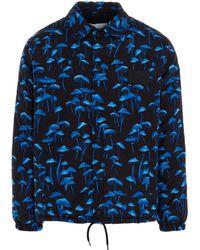 MSGM Colour Outerwear Jacket - Blue