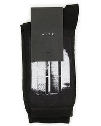 1017 ALYX 9SM World Trade Centre Socks - Black