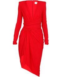 Alexandre Vauthier Dresses Red
