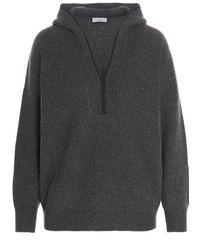 Brunello Cucinelli Other Materials Sweater - Gray