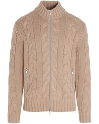 Brunello Cucinelli - Ma237506ci093 Other Materials Sweater - Lyst