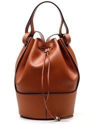 Loewe Balloon Backpack - Brown