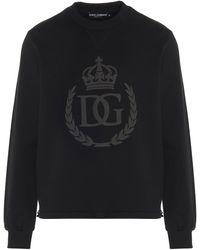 Dolce & Gabbana Logo Sweatshirt Black