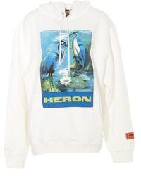 Heron Preston - Bird Graphic Logo Hoodie - Lyst