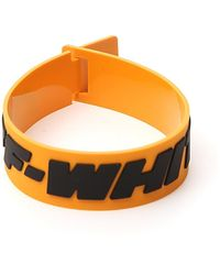 Off-White c/o Virgil Abloh Yellow Rubber 2.0 Industrial Bracelet
