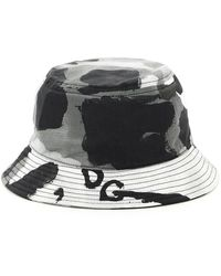 Dolce & Gabbana Camouflage Bucket Hat - Multicolor
